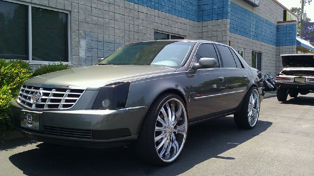 2010 Cadillac Dts On 26 Quot Rims
